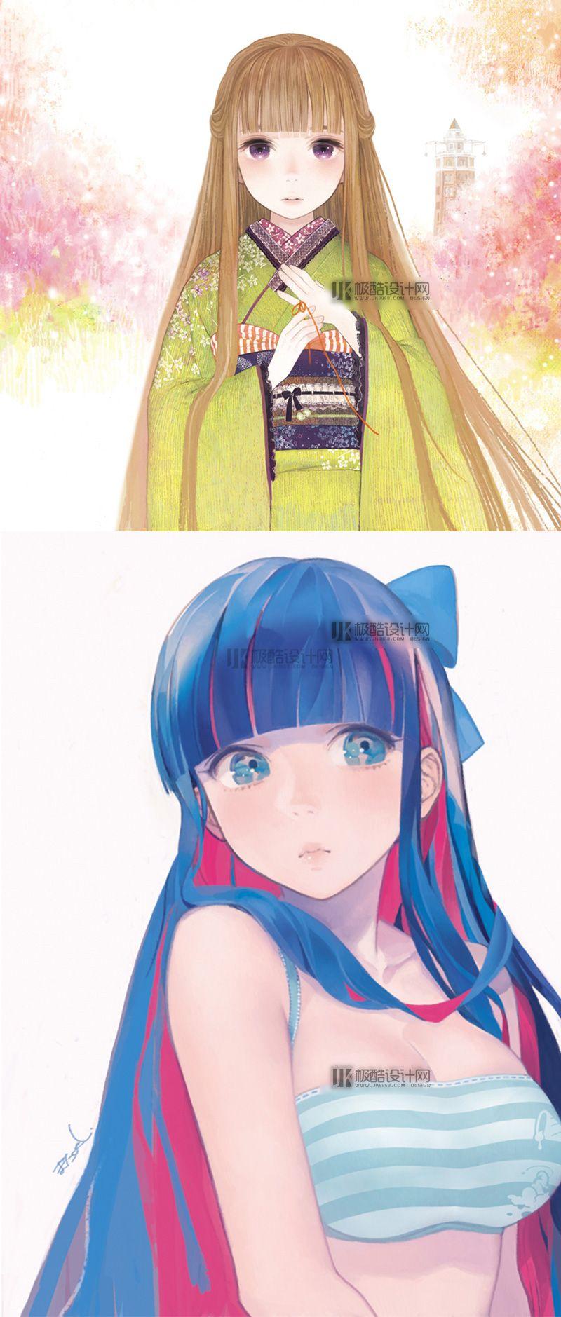 【原画漫画】日本插画师またよし插画插图视频教程(含P站作品集 )