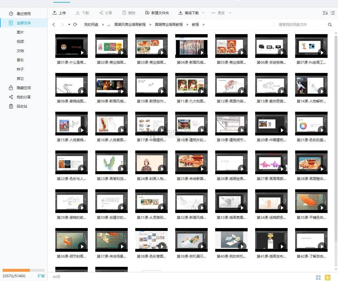 【国潮插画】喵喵女侠新国风国潮商业插画教程-精品教程