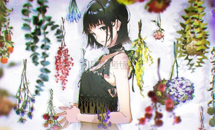 米山舞美少女插画教程
